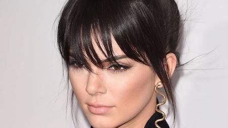 Kendall Jenner rocks her bangs!