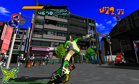 How cool could a new Jet Set Radio be on current hardware? The answer is, very.