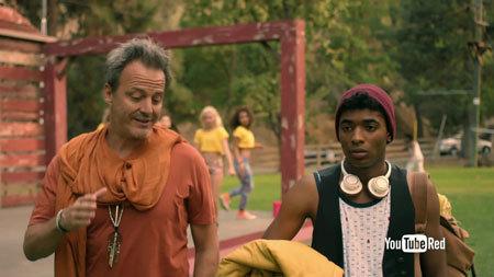 Hunter (Nadji) arrives at camp