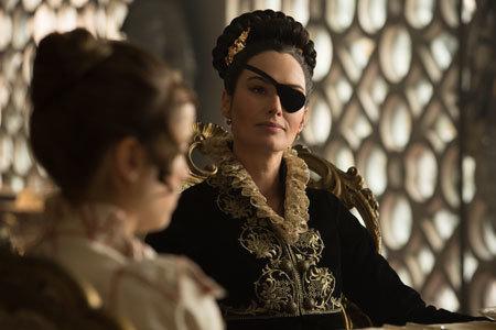 Warrior Aunt Catherine (Lena Heady)