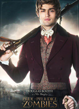 Douglas Booth as Mr. Bingley