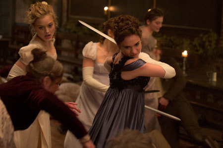 The sisters throw down against zombies