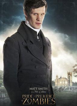 Matt Smith as Mr. Collins