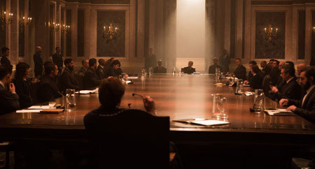 SPECTRE holds a meeting
