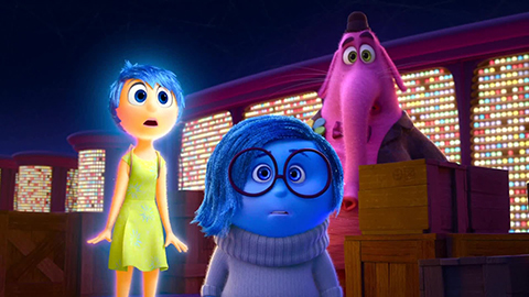 Inside out is a fantastic film. But it doesn't matter how many times you watch it, it is always the same experience.