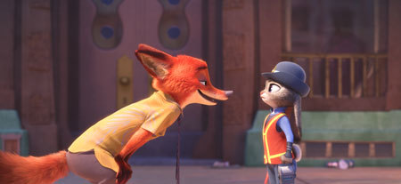 Nick and Judy work together