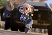 Ginnifer Goodwin is Judy Hopps in Zootopia