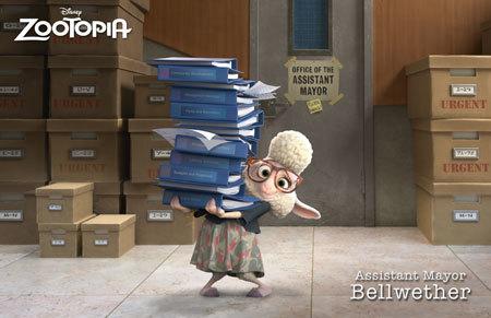 Assistant Mayor Bellwether