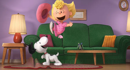 Snoopy and Sally
