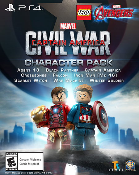 Download the Captain America: Civil War character pack today for PS4 and PS3!