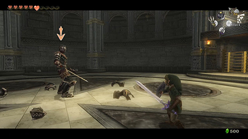 The sword combat in Twilight Princess is really good.