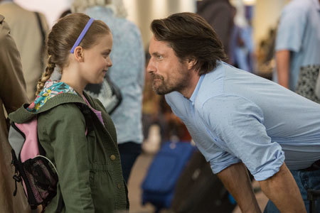 Anna with her dad (Martin Henderson)