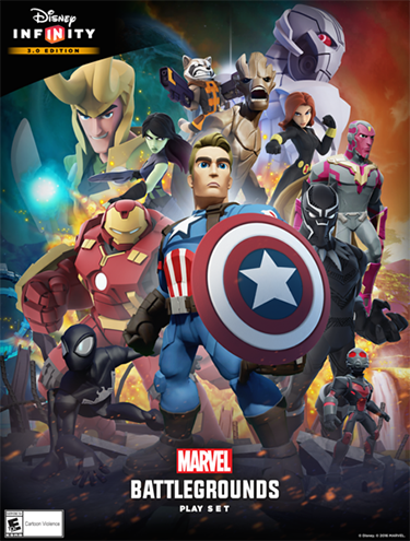 The Marvel Battlegrounds Play Set is available now.