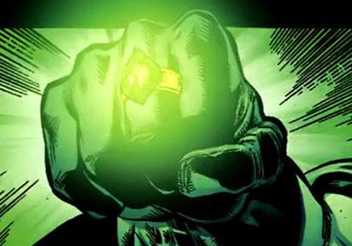 A ring of kryptonite could help Batman take down Superman.