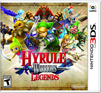 Hyrule Warrios Legends is best played on the New 3DS.