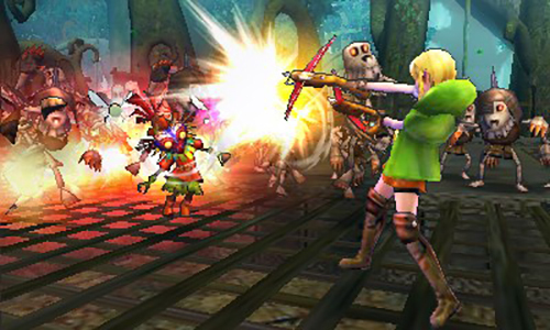 Linkle, the female version of Link is a playable character.
