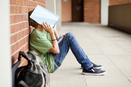 Feeling stressed because of school? You're not alone!