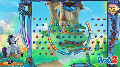 Play Peggle 2. A ridiculously charming game.