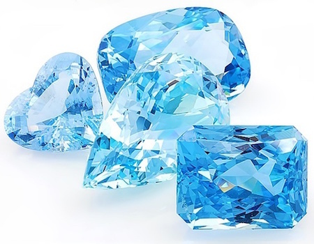 The color of aquamarine is so cool and calming.