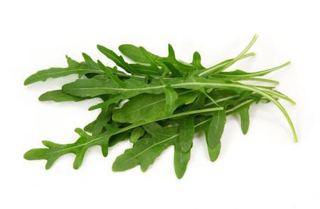 Arugula is characterized by its slightly spicy taste.