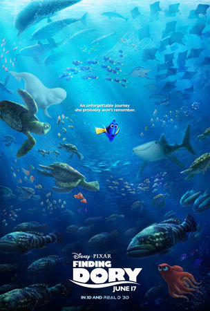 FINDING DORY New Poster