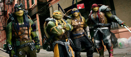 Raphael, Michelangelo, Leonardo, and Donatello are back!