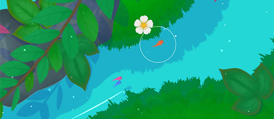 Koi looks to be a beautiful port to the PS4.