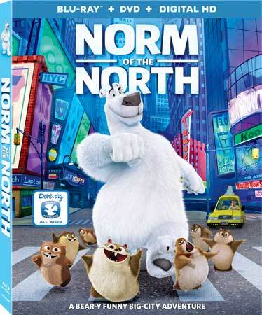 Norm of the North Blu-ray Cover