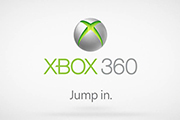 Microsoft's inconic marketing for the Xbox 360.