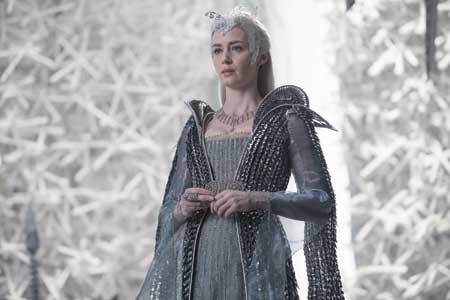 Freya in her kingdom of ice
