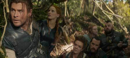 Eric, Sara and the dwarves on their quest
