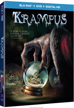 Krampus Blu-ray cover