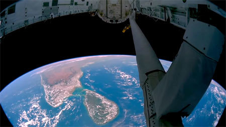 Our beautiful planet from the station