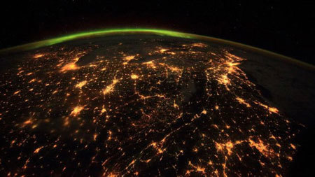 Night Lights on Earth