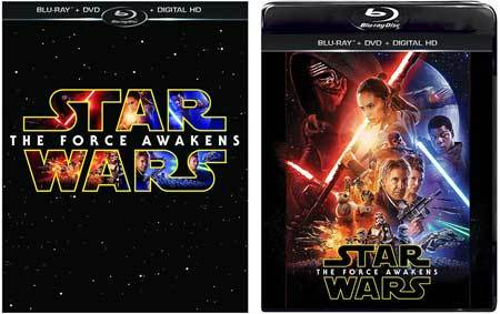 Star Wars: The Force Awakens Blu-ray Cover Art