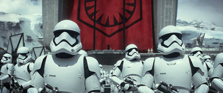 Stormtroopers gather