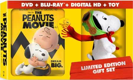The Peanuts Movie Blu-ray Limited Edition Gift Set
