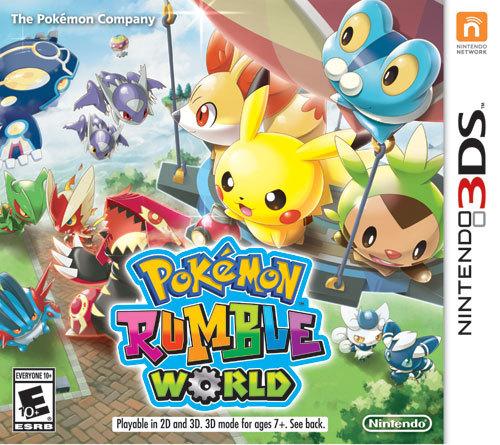 Pokémon Rumble World 3DS Box Art