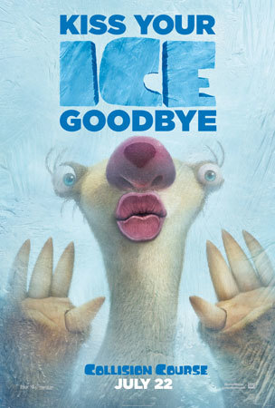 Ice Age: Collision Course Scrat Poster