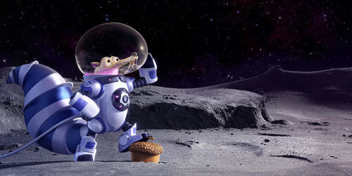 That's one small step for Scrat…