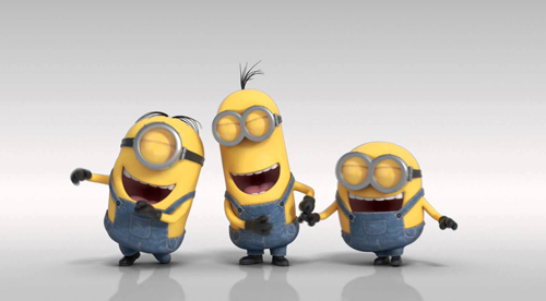 Find your funny bone like the Minions!