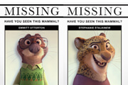 Exclusive Zootopia Missing Mammal Posters