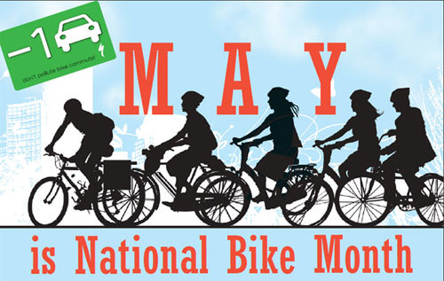 May is National Bike Month