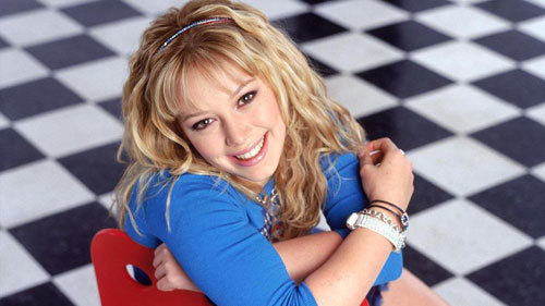 Hilary as Lizzie McGuire