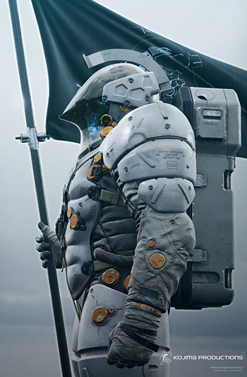 The full look at Kojima Productions' new mascot, Ludens.