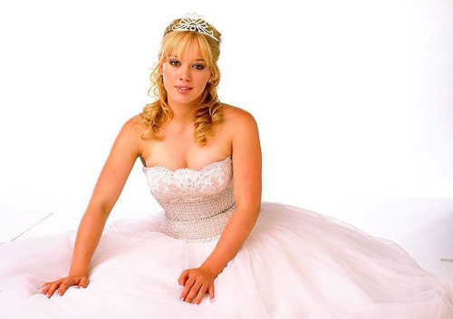 Hilary as Sam Montgomery in A Cinderella Story