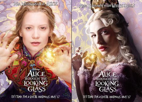 Alice and The White Queen Posters