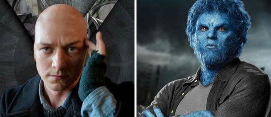 James McAvoy and Nicholas Hoult Talk X-Men: Apocalypse