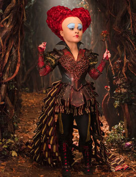 Helena as the Red Queen