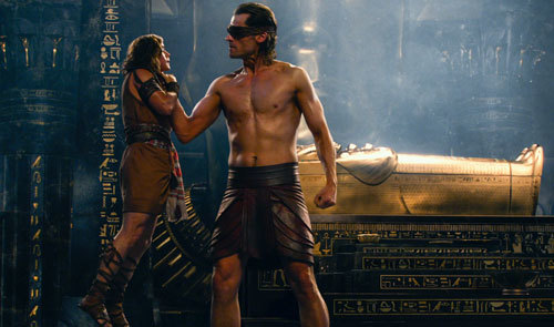 Bek grabbed by Horus